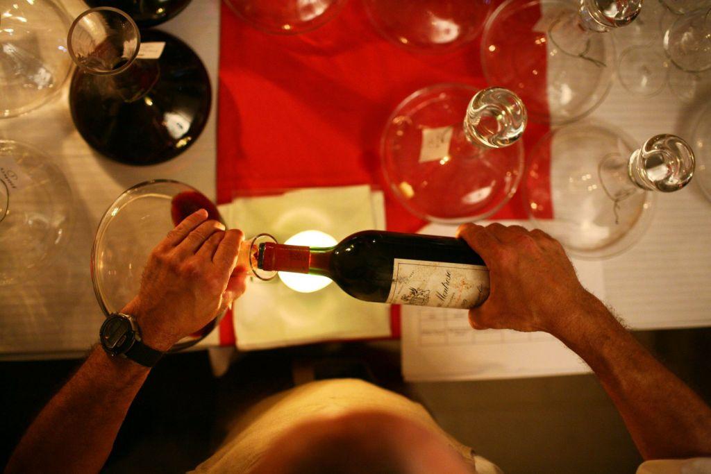 Dégustation de grands crus à Bordeaux
